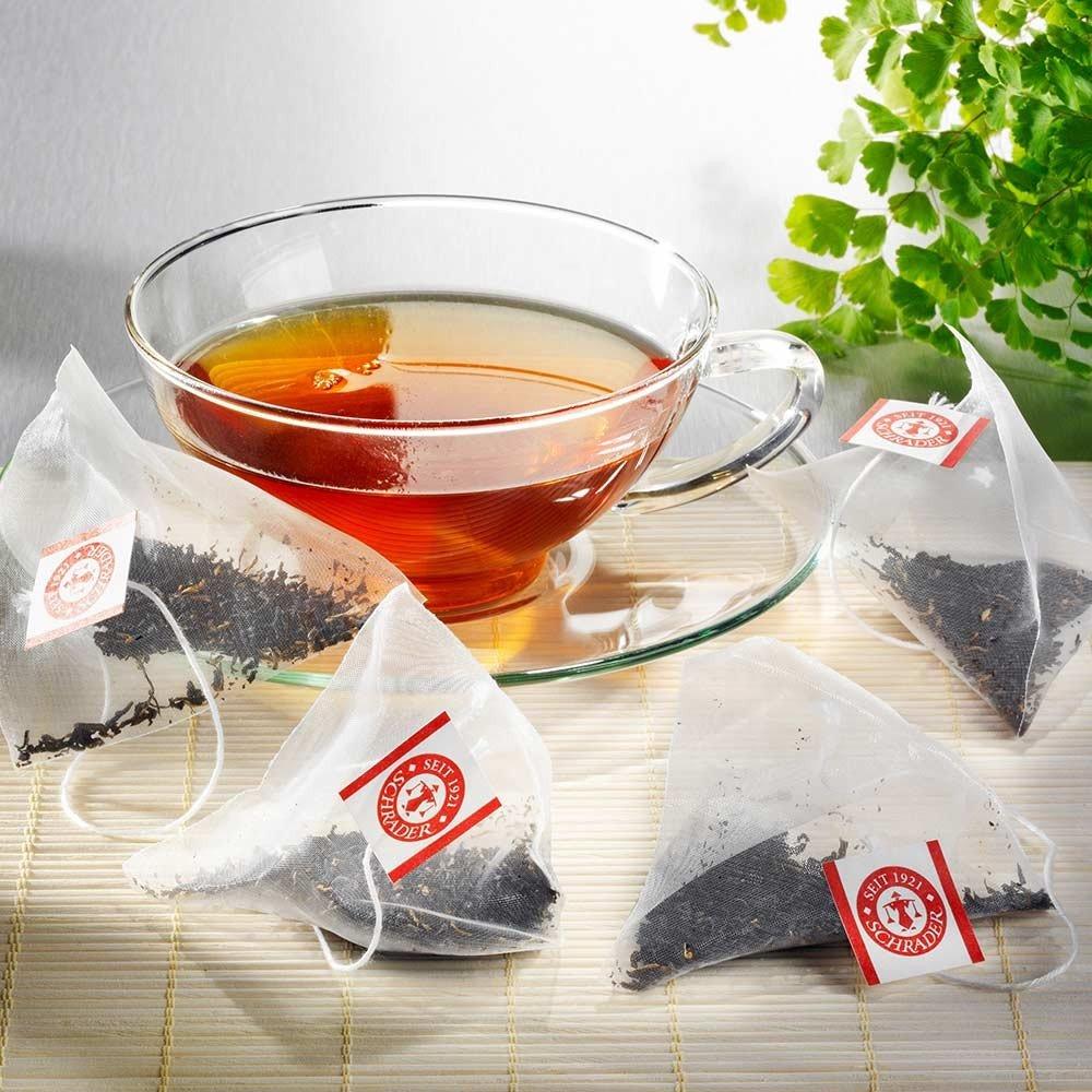 Teebeutel Schwarzer Tee Assam Golden Leaf