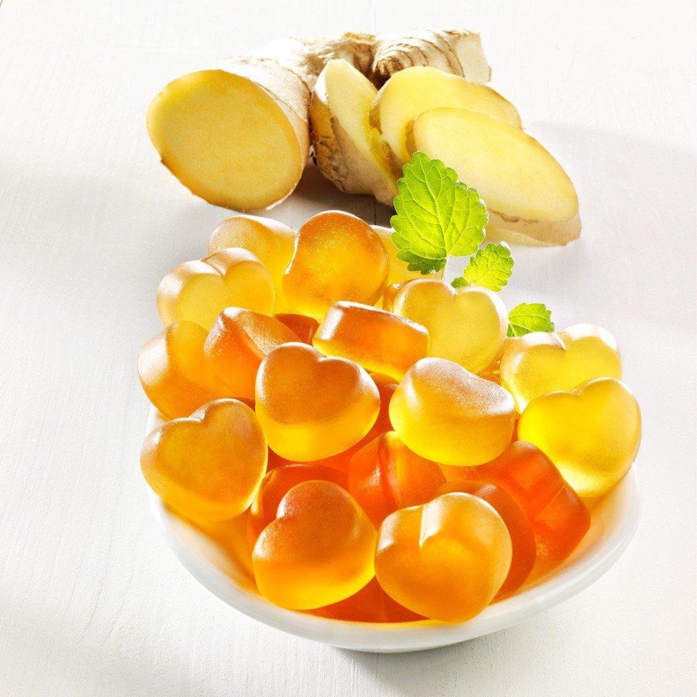 Ingwer Fruchtgummi Herzen