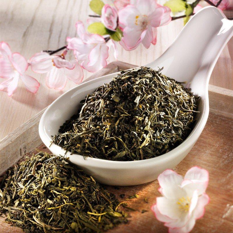Rauf Tee aromatisierter grüner Tee Japan Kirsch...