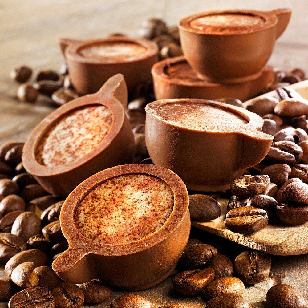 Pralinen Cappuccino Tassen