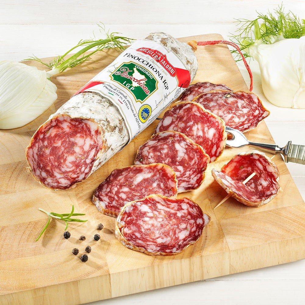Italienische Fenchelsalami, im Stück