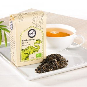 Rauf Tee Grüner Tee Bio Darjeeling Green