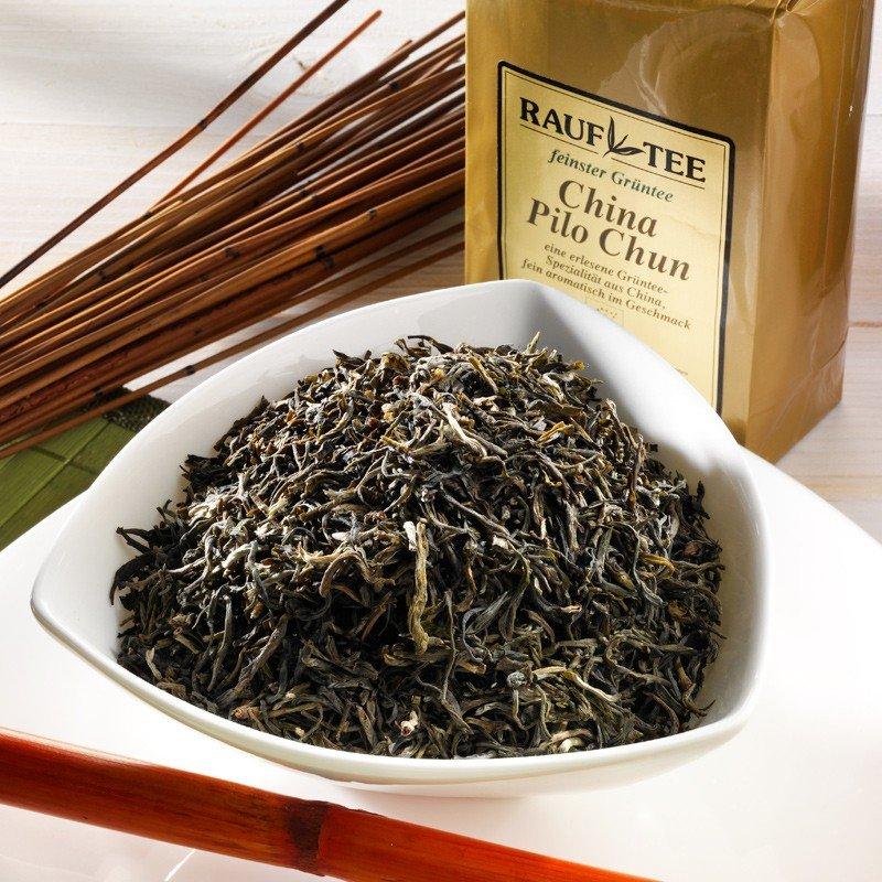 Rauf Tee Grüner Tee Pilo Chun Bio