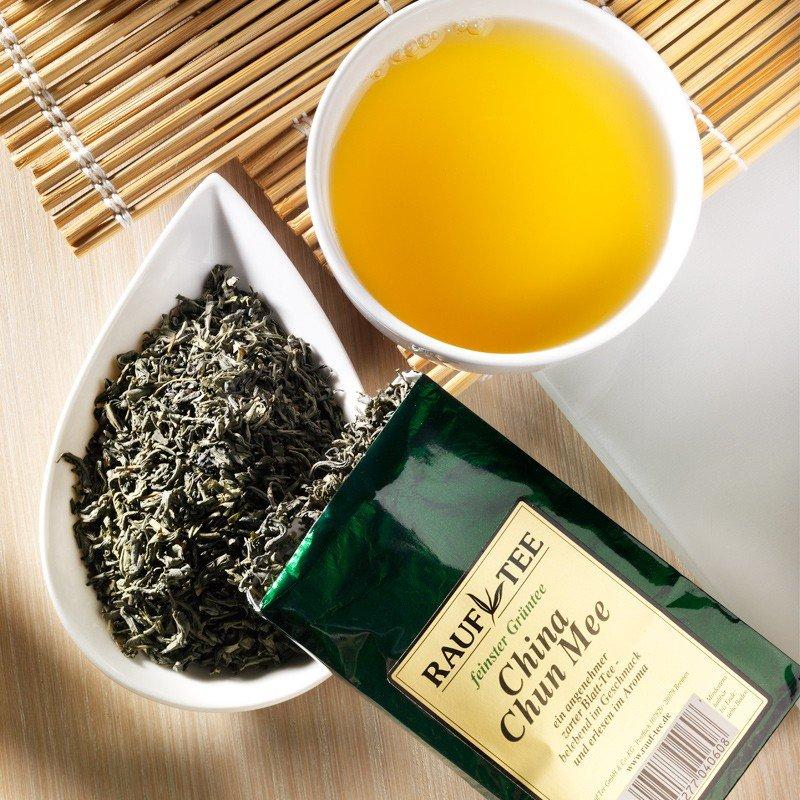 Rauf Tee Grüner Tee China Chun Mee