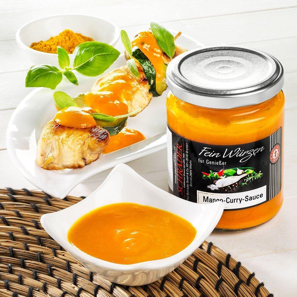 Mango-Currysauce