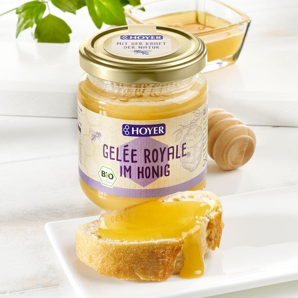 Hoyer Gelée Royale in Honig Bio