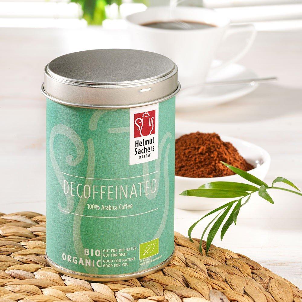 Helmut Sachers Kaffee Entkoffeiniert Bio, gemahlen