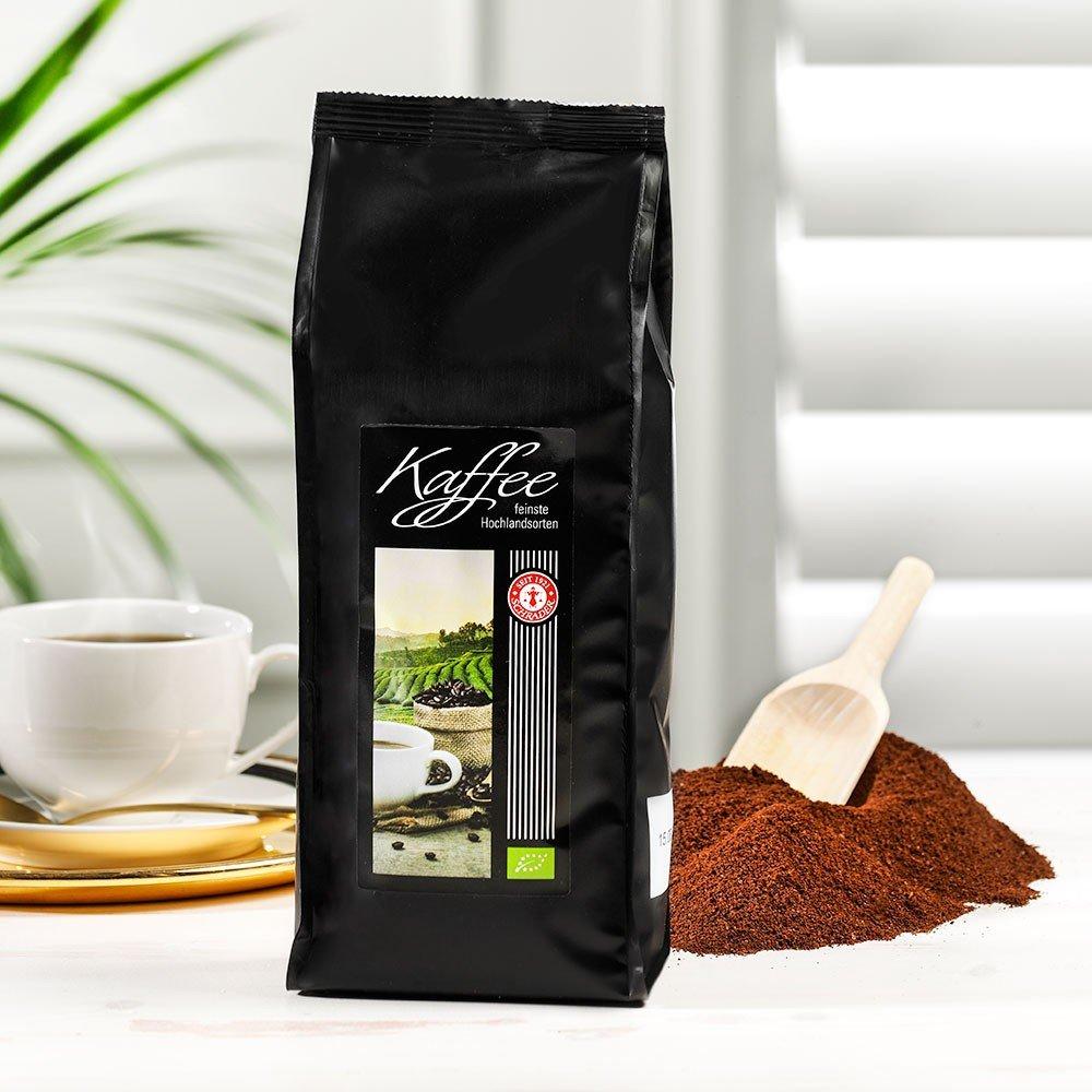 Kaffee Hotelmischung Spezial Bio 2 x 500g, gemahlen