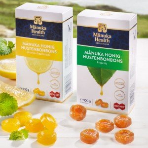 Manuka MGO™ 400+ Zitronen-Hustenbonbons