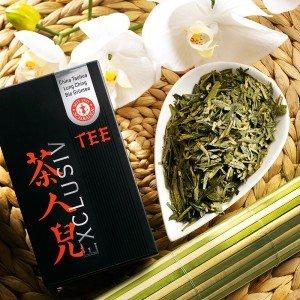 Grüner Tee China Taohua Lung Ching First Grade Bio