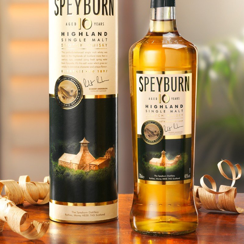 Whisky Speyburn Single Malt 10 Jahre