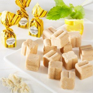 Tartufo Zitrone - Erfrischende Sommer-Trüffelpralinen mit Zitrone